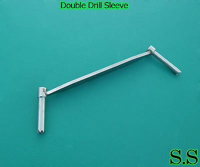 Double Drill Sleeve 2.5 3.5 Mm Orthopedic Instruments