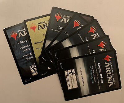 MTG Arena Unused Redemption Codes
