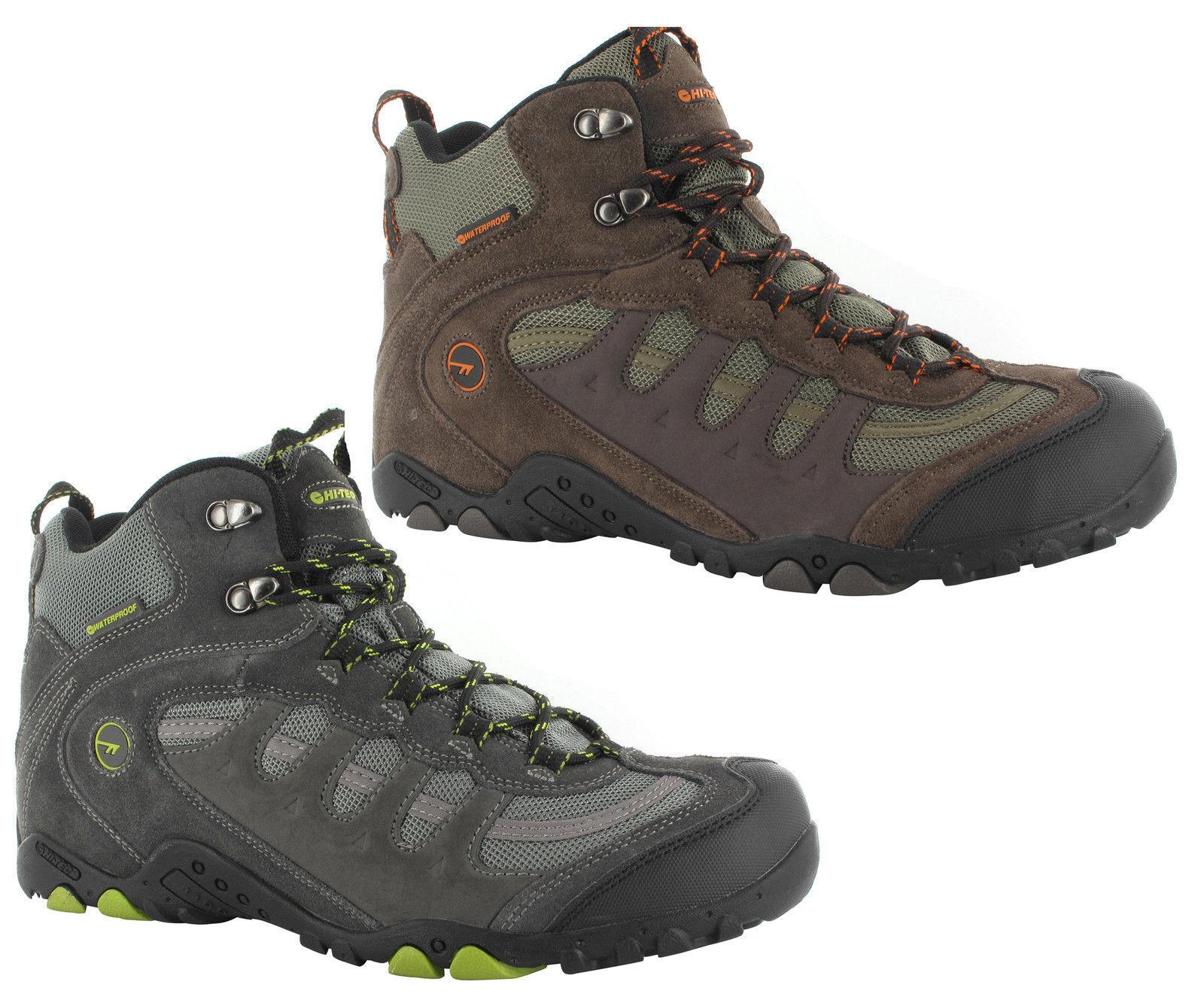 1cac555b4c2 Hi-Tec Penrith Mid Waterproof Mens Walking Trail Hiking Boots UK7-14