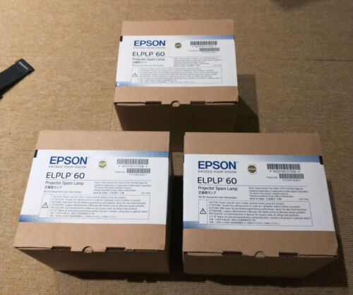 EPSON ELPLP60 OEM PROJECTOR BULB - BRAND NEW AND SEALED !!!