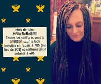 Coiffures africaines: Crochets braids, tissages, nattes