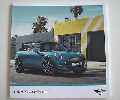 Mini . Convertible . The Mini Convertible . March 2017 Sales Brochure