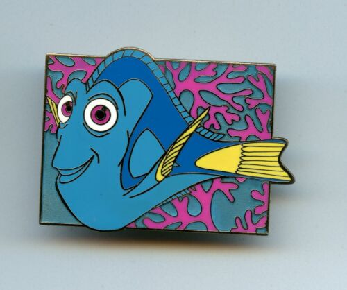 Disney Auctions Pixar Finding Nemo Series Dory Blue Tang Ocean Scene LE 250 Pin