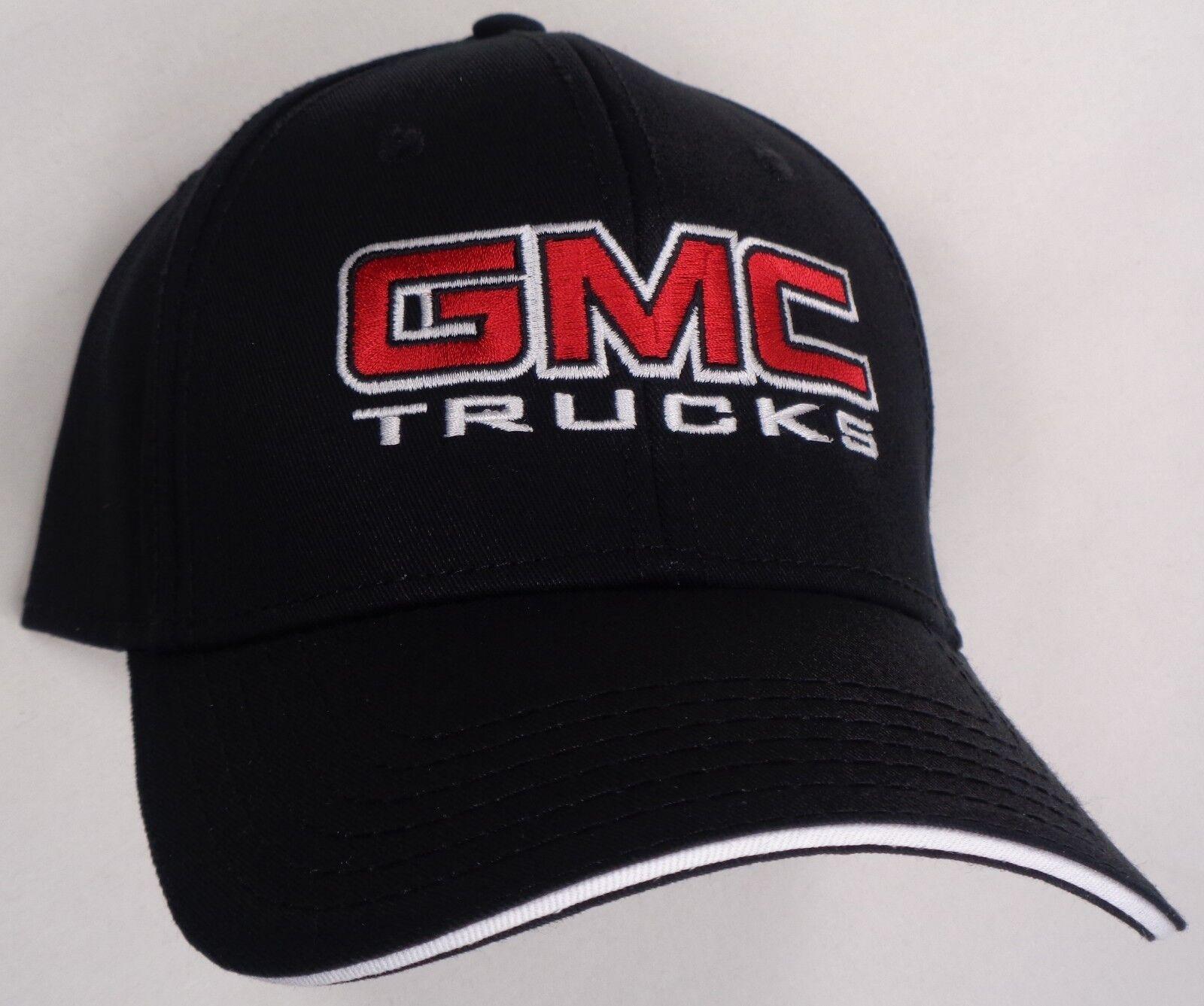 Hat Cap Licensed GMC Truck Trucks Black HR 201