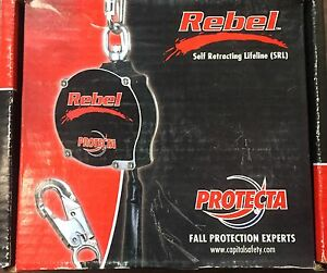 Rebel 6' Self Retracting Line, Brand New