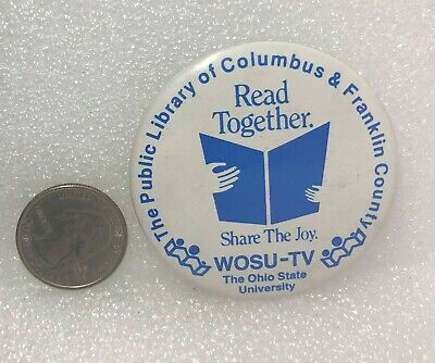 The Public Library Of Columbus & Franklin County Ohio - Read Together Pin