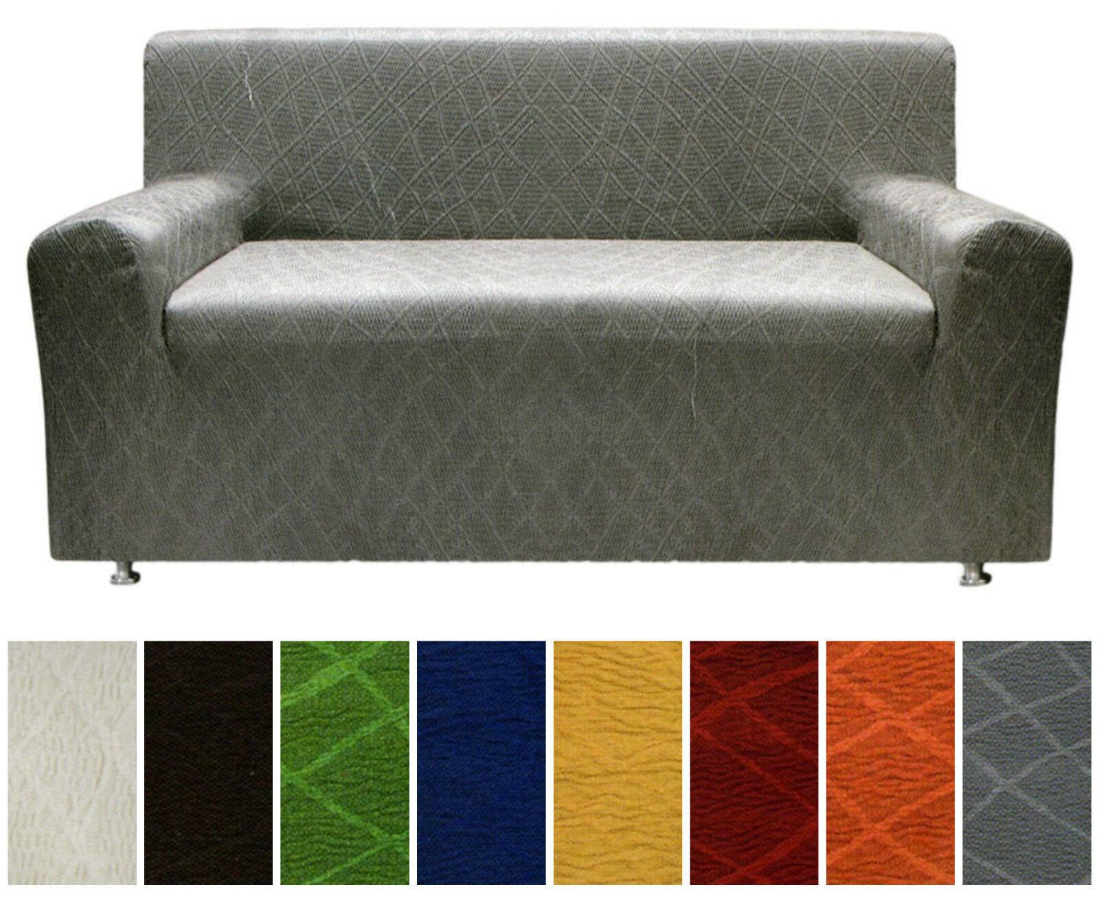 abdeckung 2 sitzer sofa 3 sitzer und 2 stuhlhussen strech. Black Bedroom Furniture Sets. Home Design Ideas
