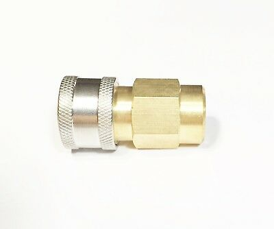 Pressure Washer Wand Lance Saver 14 Npt Quick Connect Qc Socket Coupler Add On
