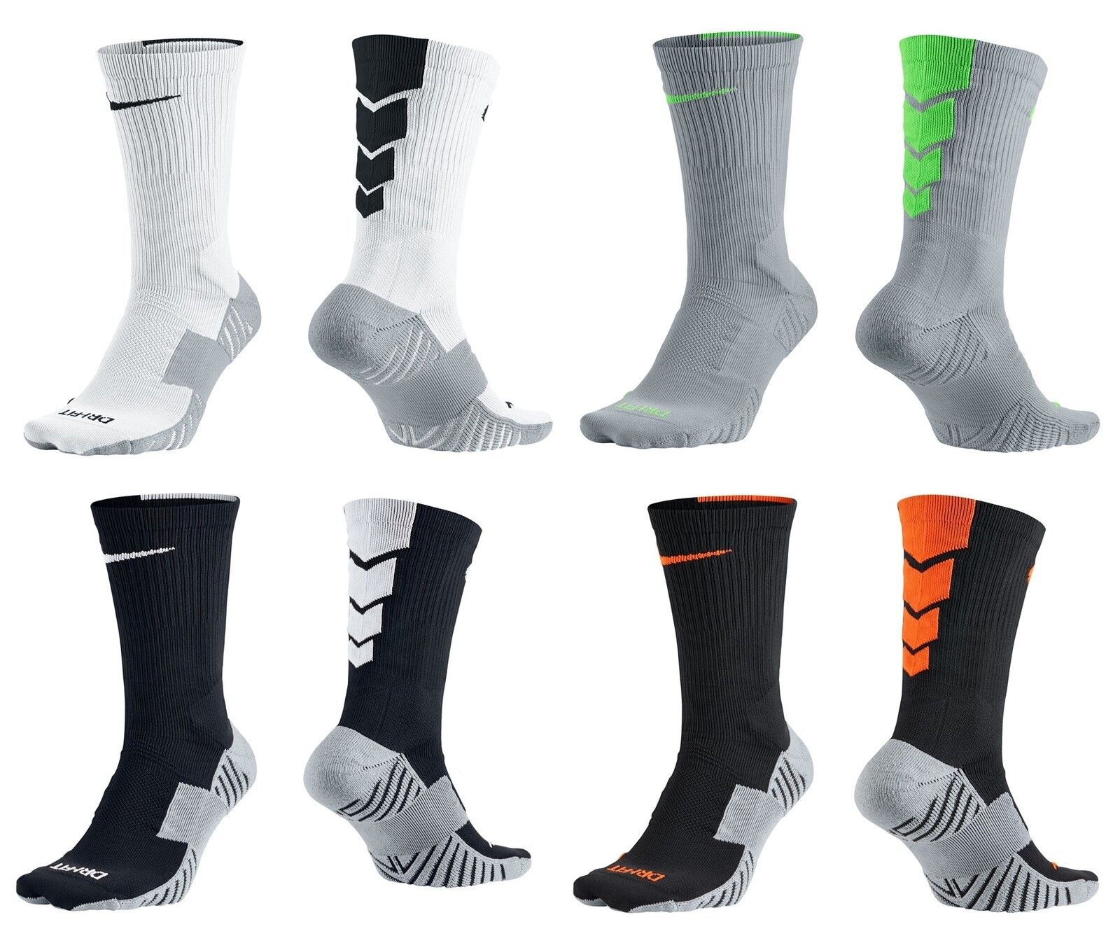 NIKE SOCCER / FOOTBALL SOCK - MATCHFIT CREW SOCKS - SX4854 ...