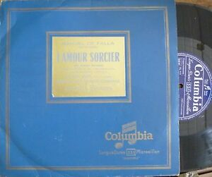"""ANA-MARIA IRIARTE - ARGENTA / FALLA / COLUMBIA FC 1010 - France - État : Genre: Classical Sleeve Grading: Excellent (EX) Record Size: 10"""" Speed: 33 RPM Duration: LP Style: Symphony Record Grading: Excellent (EX) - France"""