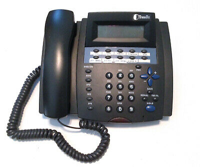Transtel Dk Dk3-21 Business Office Multi Line Desk Phone With Handset A