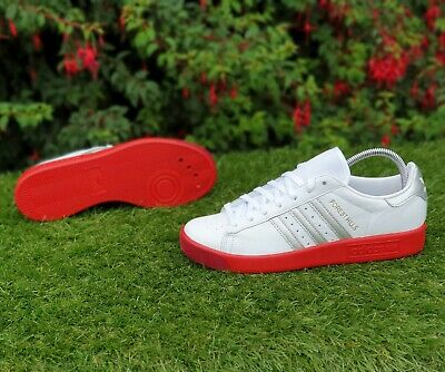 ❤ BNWB & Genuine adidas originals ® Forest Hills Retro White Trainers UK Size 9