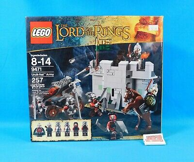 LEGO 9471 The Lord of the Rings Uruk-hai Army 257 Pieces Sealed in Box