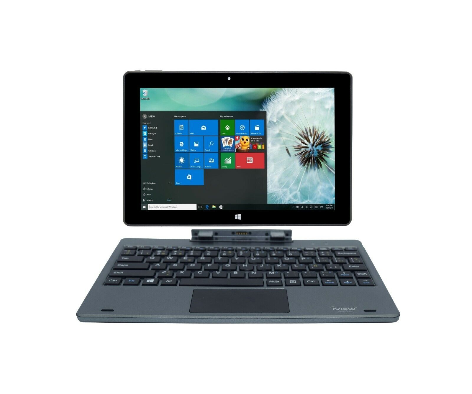 "Laptop Windows - iView Magnus Plus - 10.1"" 2GB/32GB 2-in-1 Windows 10 Touch Screen Laptop"