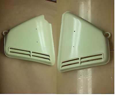 Honda cb 360 right & Left side covers  cb360  cb360t replicas air filter