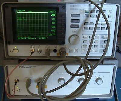 Agilent Hp 85640a 300 Khz To 2.5 Ghz Rf Tracking Generator Wcable Calibrated