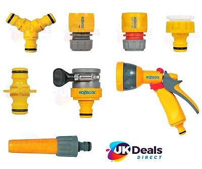 Garden Hose Attachments Hozelock Nozzle, Tap End, Water Stop Connector spray gun