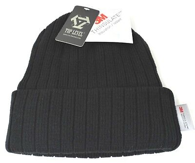 Cuff Beanie Skull Cap Winter Hat Fleece Lining Adult OSFM NWT Fleece Skull Cap Hat