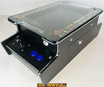 "G-208 Classic Arcade Retro Cocktail Table Video Slot Machine 15 "" LCD Screen"