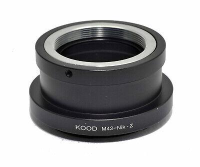 M42 - Nikon Z Adaptador M42 Tornillo Lente Para Nikon Z Cuerpo...