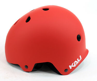 Kali Protectives Maha Helmet, Solid Red, Small