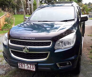 HOLDEN COLORADO 7 LTZ WITH $3000 TOWING EXTRAS