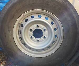 Ford Ranger (PX) 16x7  Original Steel Wheels and Tyres x 5 Bligh Park Hawkesbury Area Preview