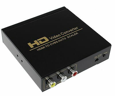 HDMI to RCA Composite Video and Audio Converter for sale  Shipping to India