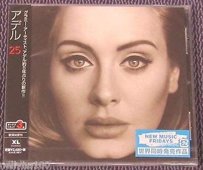 Adele  25  Japan Cd  3 Bonus Tracks  Sealed