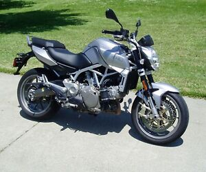 2009 Aprilia mana 850 very rare won't see many around