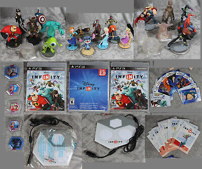 PS3 Disney Infinity Lot Playstation 3 Games, Numerous Characters, Platforms, Etc