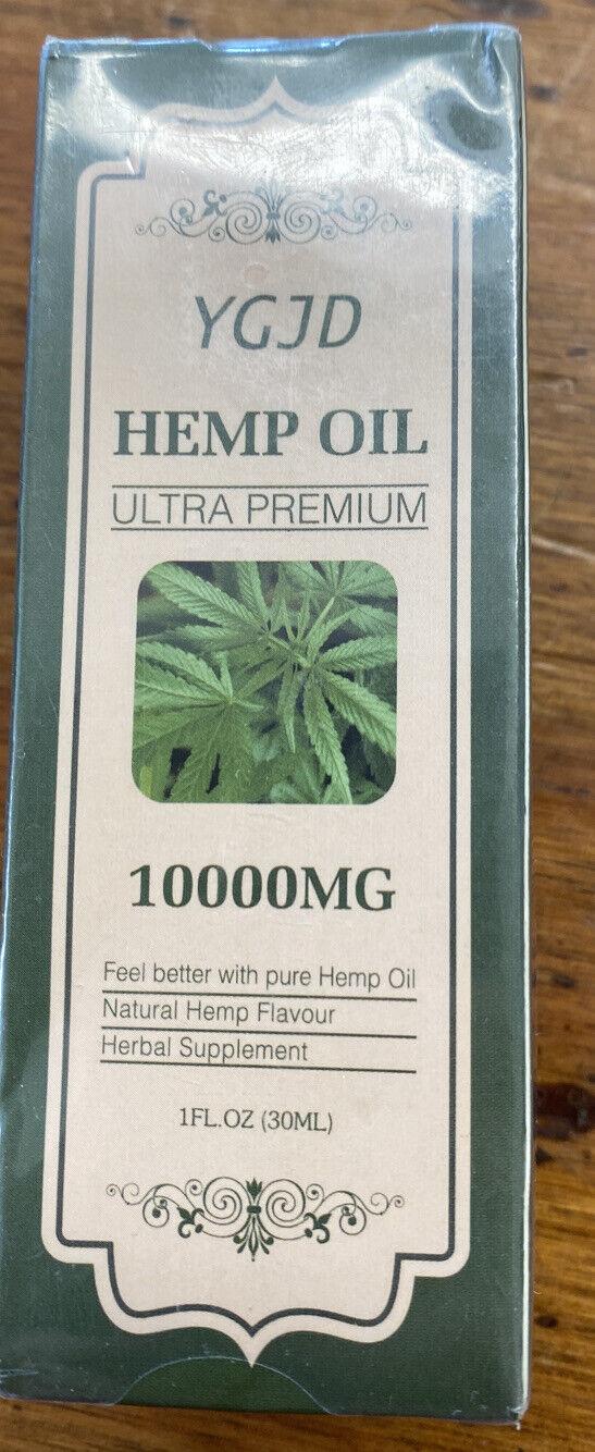 YGJD HEMP oil 10.000MG Omega 3,6,9