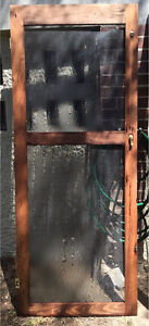 Timber fly screen door Taringa Brisbane South West Preview