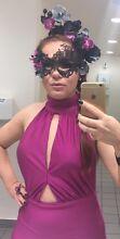 Size 8-10 Dollhouse Fuschia Dress $200 Strathmore Moonee Valley Preview