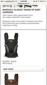 MANDUCA BABY CARRIER Carlisle Victoria Park Area Preview