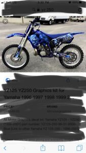 Looking for a blew up yz or cr mint condition!