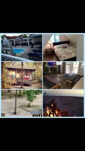 Lafontaine beachhouse for rent Oct- May. Inc heat, water, cable