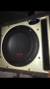 Alpine Type R Subwoofer in Ported Box