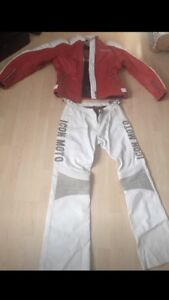 $150 For New 'Icon' Jacket & Pants Leather Riding Gear