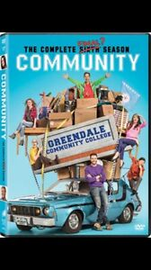 LOOKING FOR:  Community season 6 on DVD!!