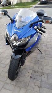 2010 Suzuki  GSX 650 cc