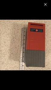 Large Canada Post mailbox coin bank