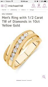 Men's diamond wedding ring Springfield Ipswich City Preview