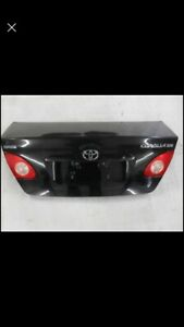 Tailgate -Valise - trunk TOYOTA COROLLA 2003 a 2007