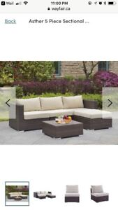 Outdoor 5 Piece Sectional *Brand New*