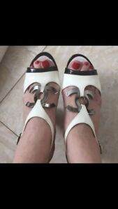 Authentic Chanel Heels size 5