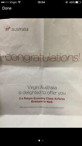 2 x Virgin Australia Return Flights Brisbane-Fiji (Nadi) Mango Hill Pine Rivers Area Preview