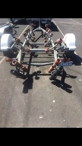 Single axel boat trailer full roller drive on drive off trailer Altona Meadows Hobsons Bay Area Preview