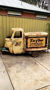 1959 Piaggio Vespa Ape AC2 suicide doors Adelaide CBD Adelaide City Preview