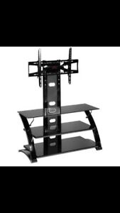 Tv mount with stand